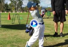 Alucinen con la evolución del swing de Jaden Soong, el niño que cogió los palos con 12 meses (VÍDEO)