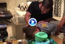¡Felicidades, Smylie! Sus compañeros del SB2K16 le depararon varias sorpresas con la tarta (VÍDEO)
