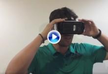 ¿Nacho Elvira viendo jugar a Nacho Elvira? Con la Realidad Virtual claro que es posible (VÍDEO)