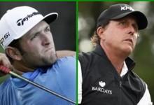 Rahm y Mickelson se verán las caras en el Houston Open en uno de los grandes partidos del torneo