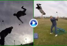 Los hemos visto de todos los colores pero nunca así, vean lo último ¡¡el Trick Shot Volador!! (VÍDEO)