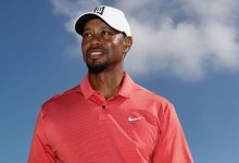 Tiger recibió un homenaje por parte de los jugadores del Team USA en la pasada Ryder Cup