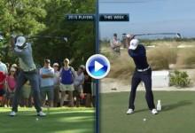 Vea la diferencia entre el swing de Tiger Woods en 2015 y el de esta semana en el HWC2016 (VÍDEO)