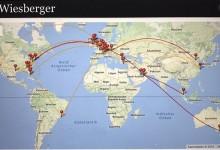 ¿Cuantos kilómetros hace un Top 50 mundial al año? Prácticamente da 5 vueltas al mundo en avión