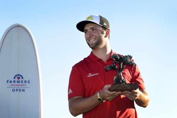17 01 29 Jon Rahm campeón en el Farmers Insurance Open. Foto @PGATour