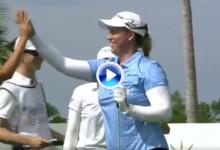 Brittany Lincicome consiguió el primer triunfo del curso en el LPGA… y el primer Hoyo en Uno (VÍDEO)