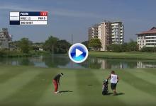 Este golpazo de Carlos Pigem es sin duda uno de los mejores de la semana en el Myanmar Open (VÍDEO)