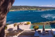 La vista de los 50 millones de dólares, a la venta frente al Pebble Beach Golf Links de California