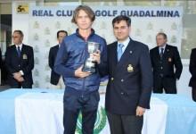 Marcus Svensson, sueco afincado en Málaga, se hace con la Copa de Andalucía Masculina en casa