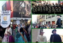 1000 festeros de la Costa Blanca conquistan Madrid con un emocionante y único desfile (VÍDEO)