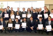 La Federación de Golf de Madrid rinde homenaje a los madrileños triunfadores en 2016