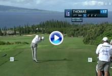¡¡Boommm!! Este misil de Thomas alcanzó los 370 m., lo que miden casi 4 campos de fútbol (VÍDEO)