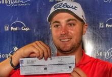 Una exhibición para la historia. Thomas ya es el 7º golfista en bajar de los 60 en el PGA (Inc. VÍDEO)