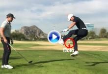 """Combinación de golf y fútbol en este fantástico Trick Shot a cargo de estos dos """"Pros"""" (VÍDEO)"""