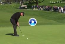 El Golf es duro: Los más grandes también fallan putts muy cortos, incluso desde un palmo (VÍDEO)