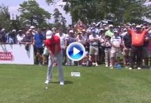 ¡Grande Rory! el número 2 del mundo dejó la bola a poco más de un palmo desde 172 metros (VÍDEO)