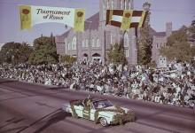 El Rose Parade rinde el último homenaje a Arnold Palmer, Grand Marshal del popular desfile en 1965