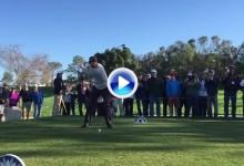 Tiger ya está preparado para su retorno en Torrey Pines. Vea su swing a cámara super lenta (VÍDEO)