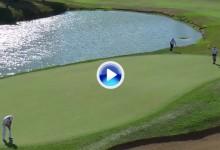 Desde el infinito… y más allá. Cejka, campeón del putt más largo en el PGA con 25,75 metros (VÍDEO)