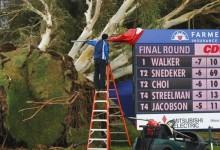 El rough de Torrey Pines será un peligro en el Farmers debido al temporal que asola California