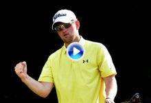 ¡¡Increible!! Así se anotan ¡¡9 birdies!! consecutivos. Wiesberger fija un nuevo record en el Tour (VÍDEO)