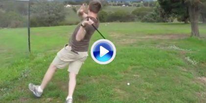 Grandes cabreos, tiros fallados, palos al agua… La última y más divertida recopilación de Golf (VÍDEO)