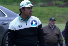 Matsuyama estuvo muy cerca de convertir el Hoyo en Uno menos esperado de la historia (VÍDEO)