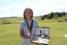 Macarena Campomanes, bicampeona del mundo, medalla de oro de la FGM: «El golf es todo para mí»