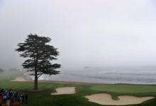 La lluvia y el viento deslucen el Pro-Am de Pebble Beach y alejan a Rahm y a F.-Castaño de la cabeza