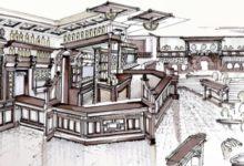 Darren Clarke muestra el boceto del pub irlandés que abrirá próximamente en Carolina del Sur