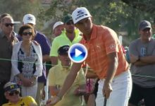 Rickie Fowler sentenció el torneo con este gran putt para birdie ¡desde 12 metros! (VÍDEO)