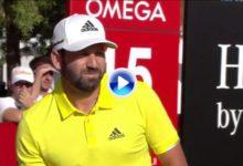 El golpe del campeón. Sergio sentencia en Dubai con un extraordinario impacto en el 15 (VÍDEO)