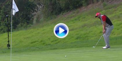 El chip perfecto de Sergio, entre los 5 mejores golpes de la semana en el Genesis Open (VÍDEO)