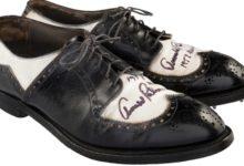 Los zapatos de Palmer mejoran las expectativas iniciales y alcanzan en subasta ¡los 66mil dólares!