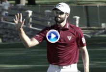Hadwin se graduó en el PGA dando un clínic con el putter en las manos. Disfruten de la hazaña (VÍDEO)