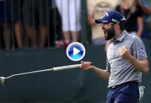 Primera victoria, pasaporte al Masters y 1.134.000 dólares gracias a este putt desde ¡16 mts.! (VÍDEO)