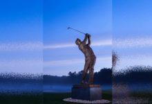 Una estatua de bronce de The King mantendrá vivo su recuerdo en la sede del Arnold Palmer Invit.