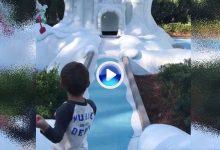 De tal palo, tal astilla: Caleb Watson, hijo de Bubba, se luce en el minigolf con una carambola (VÍDEO)