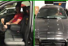 Poulter adquirió para su colección el coche con el que Rory llegó al tee el último día en Medinah '12