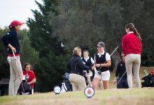 La Copa La Reina enseña sus garras en Sherry Golf, Dana-Helga Puyol y Elena Arias mejores españolas