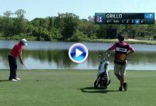 El Golf es duro: El hoyo 6 fue la tumba de Grillo en Bay Hill. Anotó un 9 con dos bolas al agua (VÍDEO)