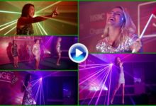 De la hierba al escenario, el HSBC se presentó con un gran espectáculo de láser, luz y sonido (VÍDEO)