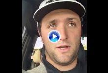 Jon Rahm envía un afectivo mensaje a los jóvenes talentos españoles desde Augusta (VÍDEO)