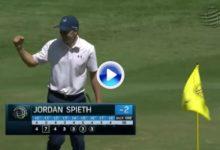 Este golpe solo puede crearlo un genio del golf. De los más bellos visto en mucho tiempo (VÍDEO)