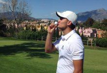 Nacho Puente se coloca líder en el Campeonato de España Sub 18 a falta de los últimos 18 hoyos