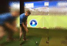 Un amateur se va más allá de los 250 metros sin inmutarse… ¡utilizando para ello un putter! (VÍDEO)