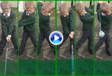 Rory y el golf irlandés pueden estar tranquilos, solo hay que ver el swing de este niño de 6 años (VÍDEO)