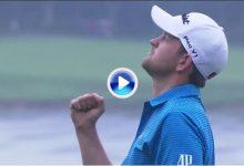 ¿Quién dijo presión? Wiesberger pegó este tirazo en el PlayOff para llevarse su cuarto título (VÍDEO)