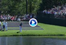 Bubba sorprende en el Par 3 del 16. Hizo 7 saltos de rana antes de coger el green ¡con el driver! (VÍDEO)