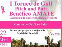 ÁMATE, Asociación de Cáncer de Mama de Tenerife, celebra su primer torneo benéfico de golf